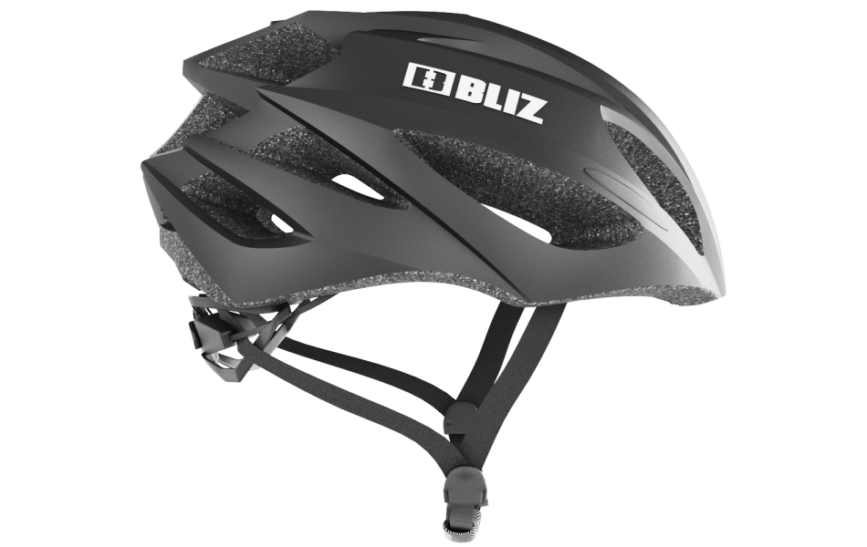 Alpha Black - Bike Helmet S