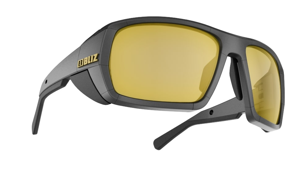Peak Polarized - Black w gold mirror