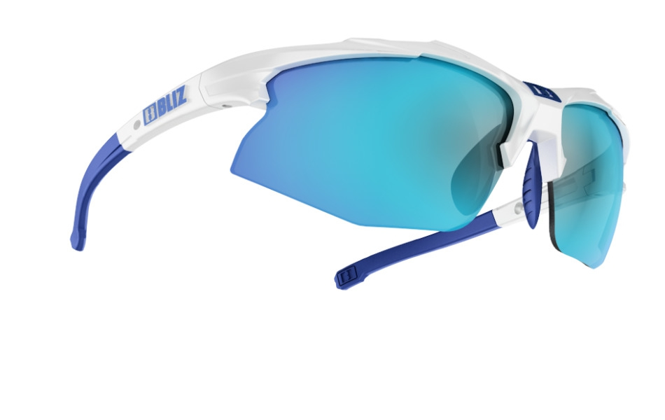 Hybrid - White w blue multi