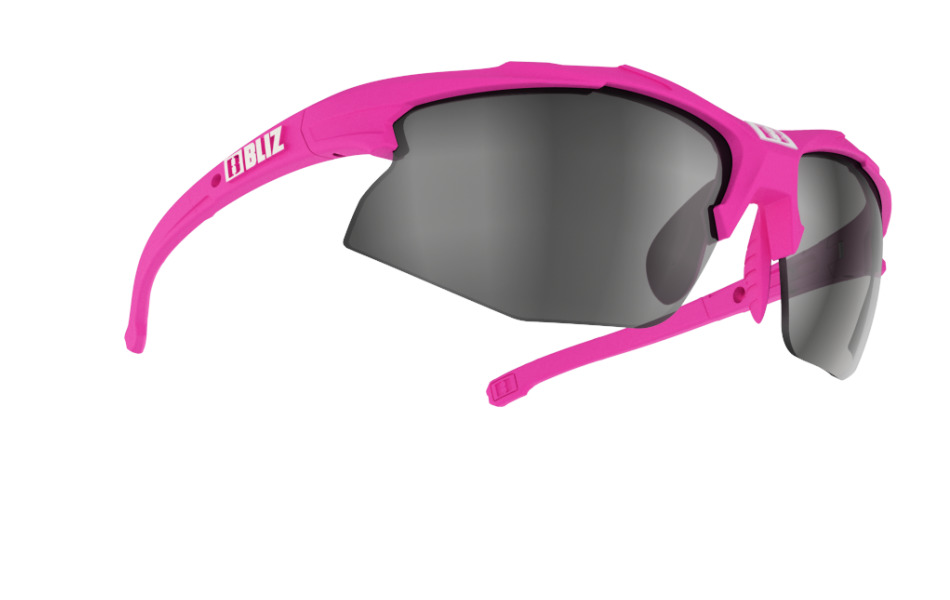 Hybrid Small - Rubber neon pink w silver mirror