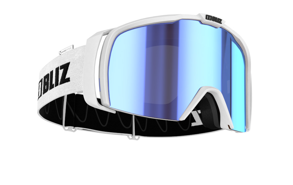 Nova Nano Optics - Matt white, brown w blue mulit