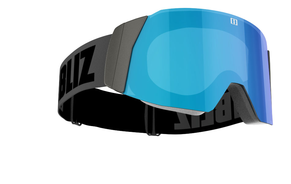 Air - Black with blue multi lens