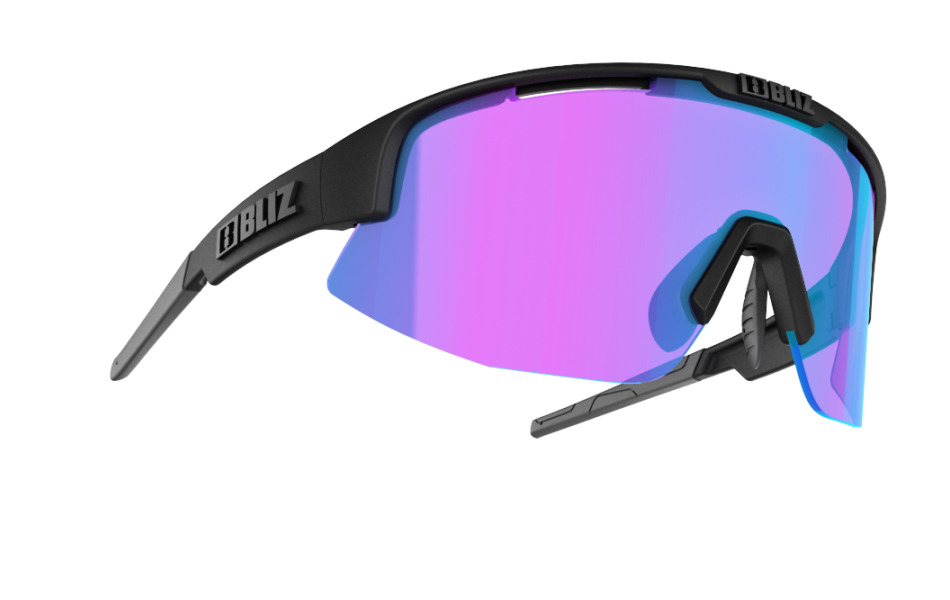 Matrix Nordic Light - Matt black, violet w blue multi