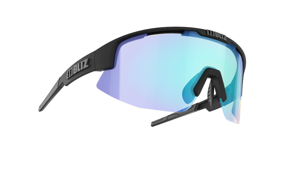 Matrix Nordic Light - Matt black, orange w blue multi