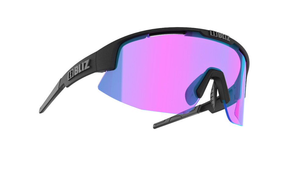 Matrix Small Nordic Light - Matt black, violet w blue multi