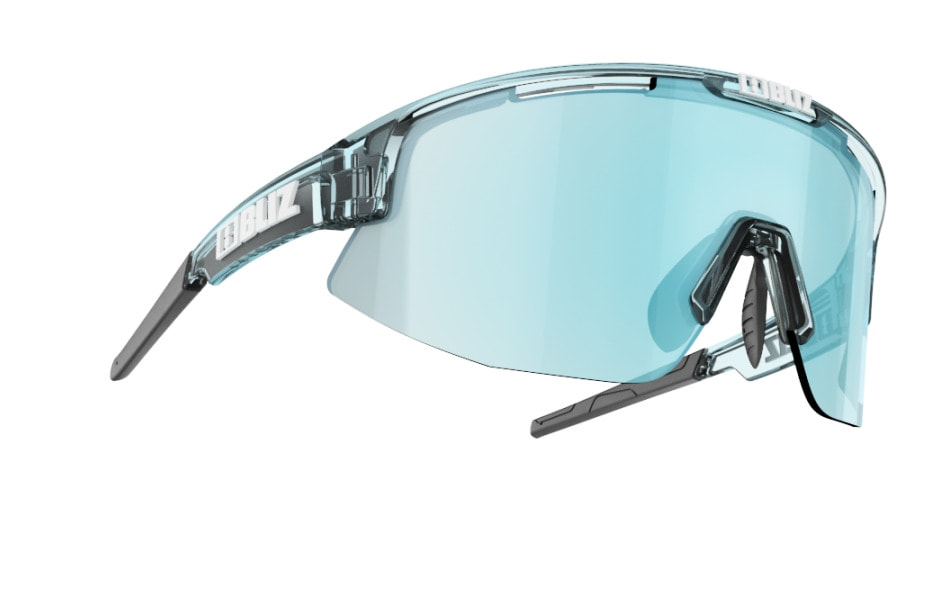 Matrix - Transparent Ice blue w blue multi