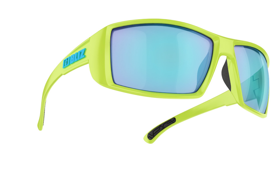 Drift - Matt lime green w blue multi