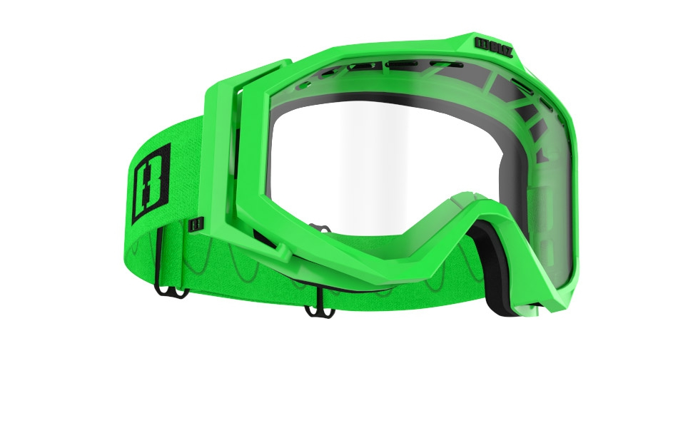 Edge Drop MTB - Matt green w clear lens