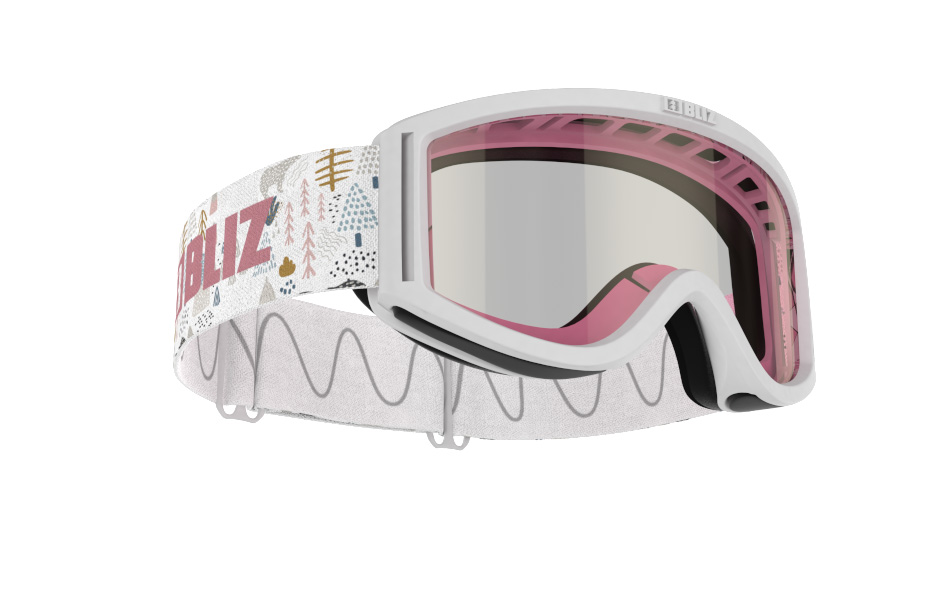 Pixie - White w Pink single lens
