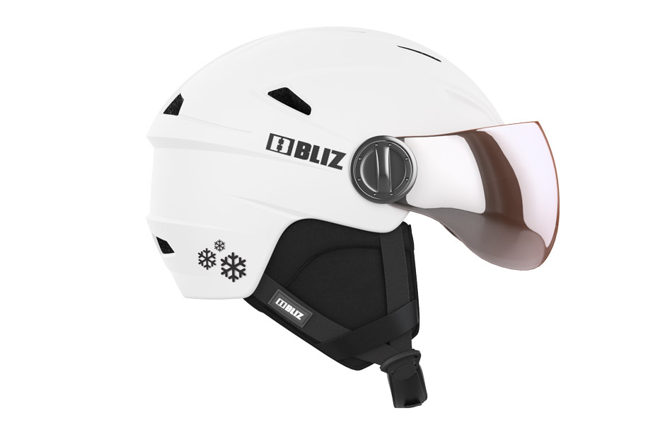 Jet White - Kids Helmet White XS