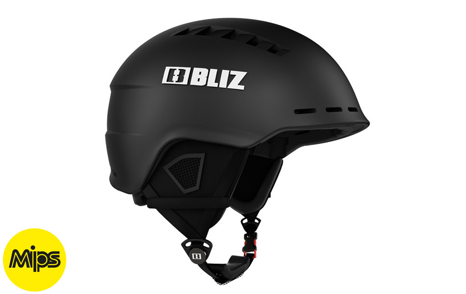 Head Cover MIPS Black - Black ski helmet