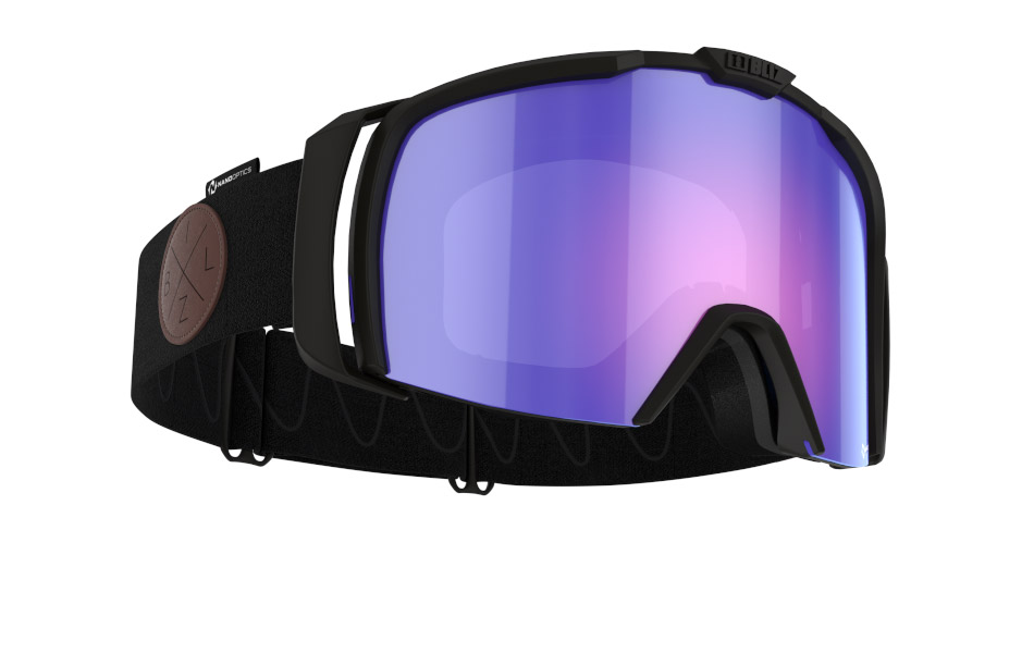 Nova Nano Optics/ Nordic Light - Matt black, violet w blue multi