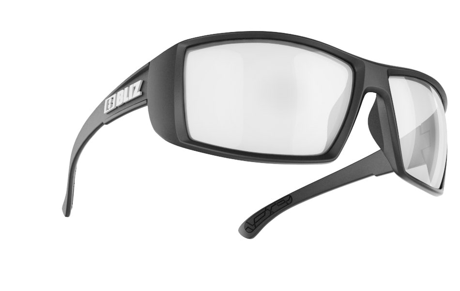Drift Polarized - Matt Black w Mirror Polarized