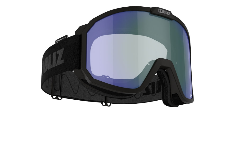 Rave Nano Optics/ Photochromic - Matt Black, w Blue multi