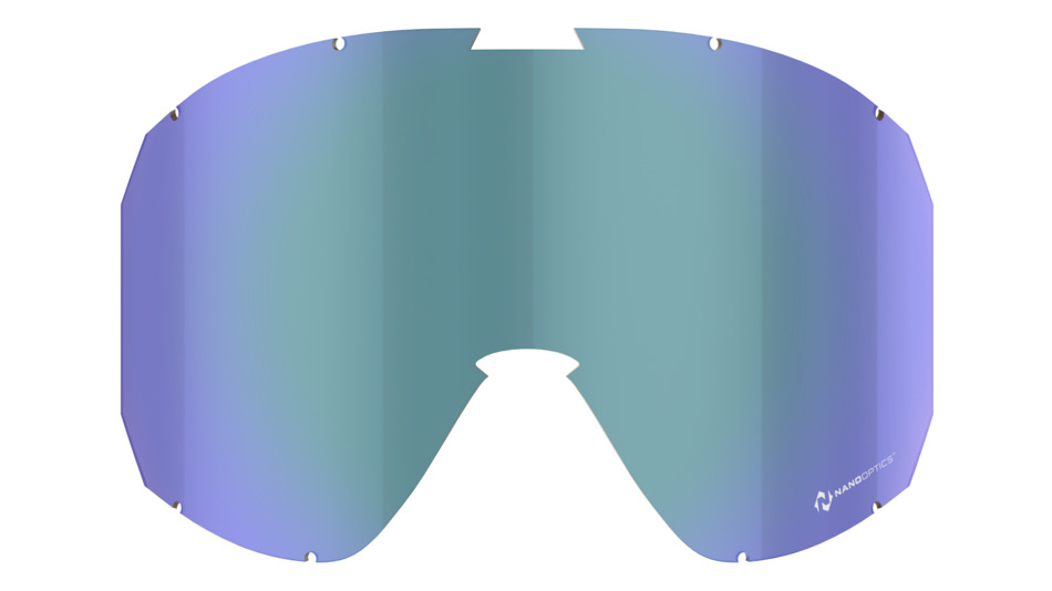 Rave spare lens, Nano Optics - Blue Multi