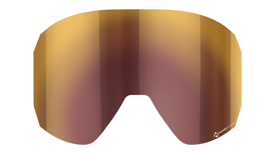 Split spare lens, Nano Optics - Red Multi