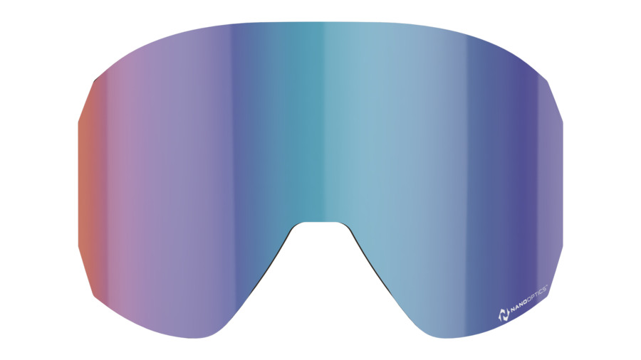 Split spare lens, Nano Optics - Blue Multi