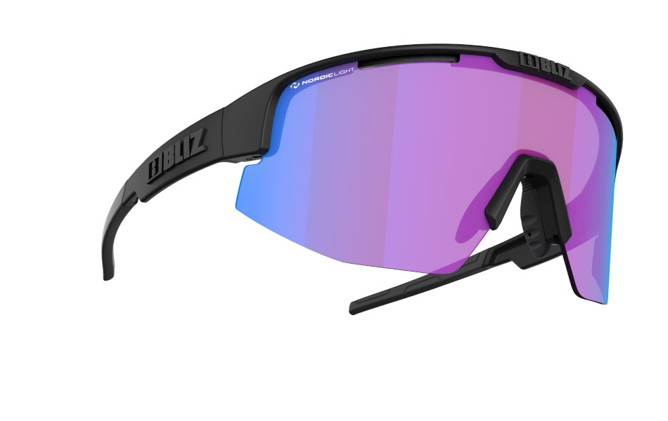 Matrix - Nano | Nordic Light - Matt black, Violet w blue multi