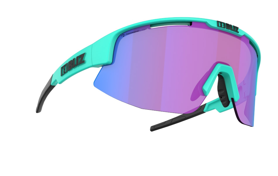 Matrix - Nano | Nordic Light - Matt Turquoise, Violet w blue multi