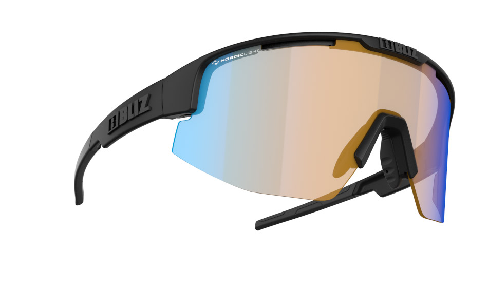 Matrix - Nano | Nordic Light - Matt black, Orange w blue multi