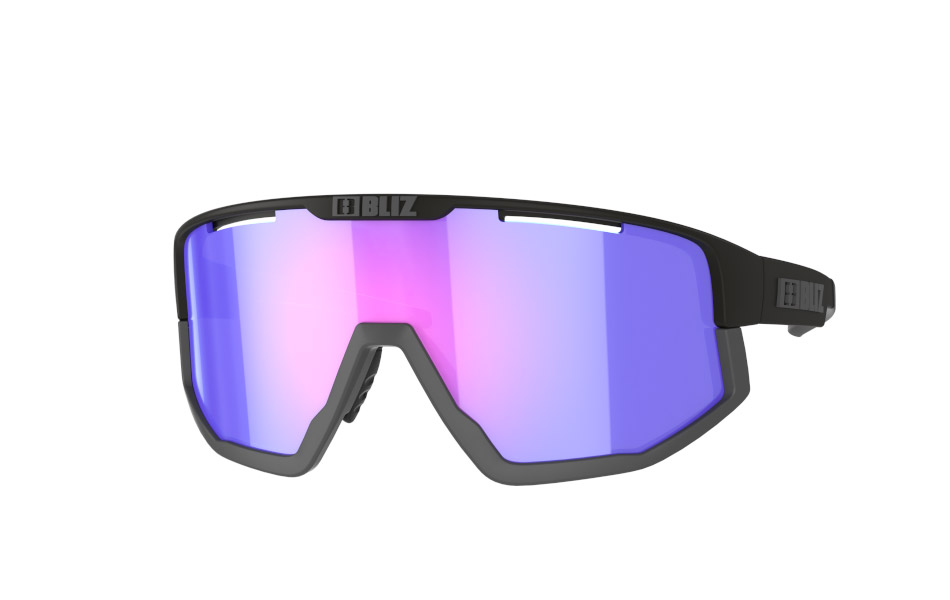 Fusion Nordic Light - Matt black, violet w blue multi