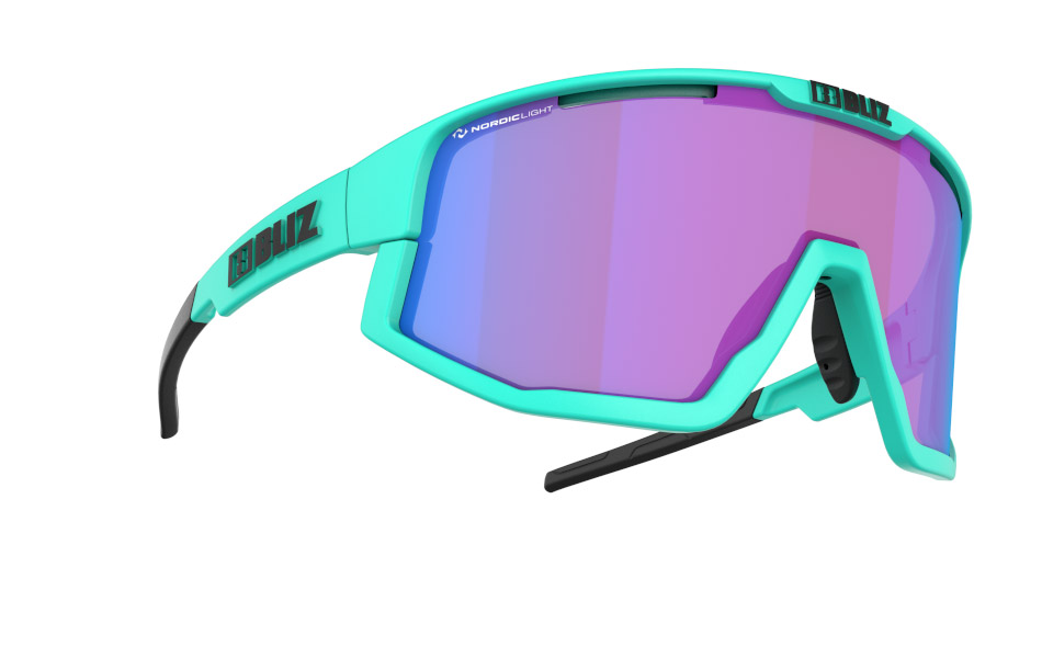Fusion - Nano | Nordic Light - Matt Turquoise, Violet w blue multi