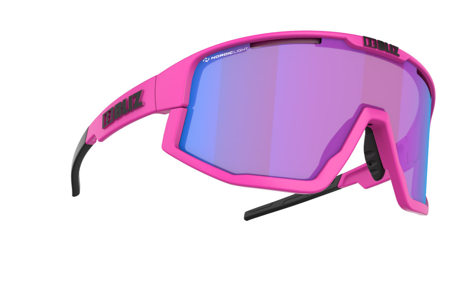 Fusion - Nano | Nordic Light - Matt Neon Pink, Violet w blue multi