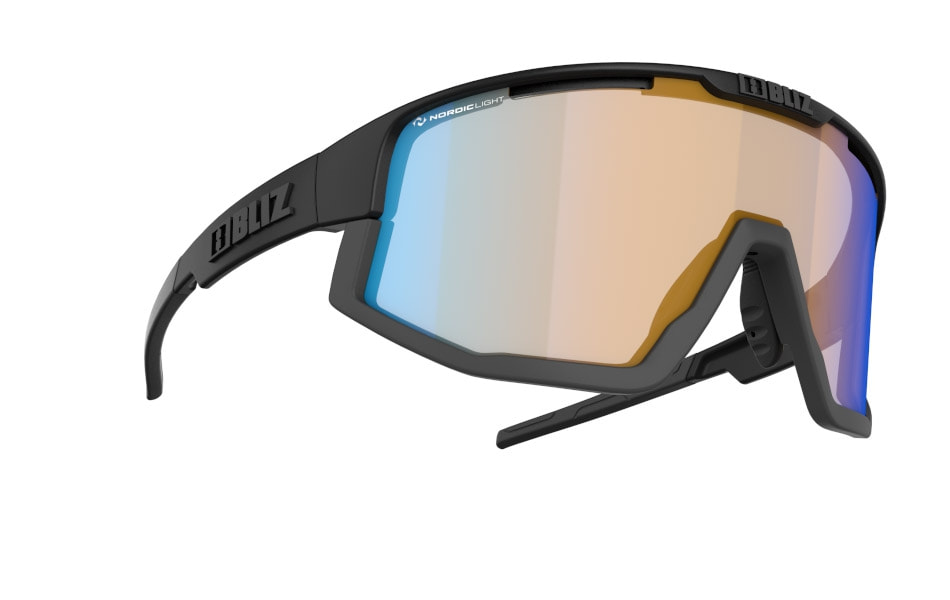 Fusion - Nano | Nordic Light - Matt Black, Orange w blue multi