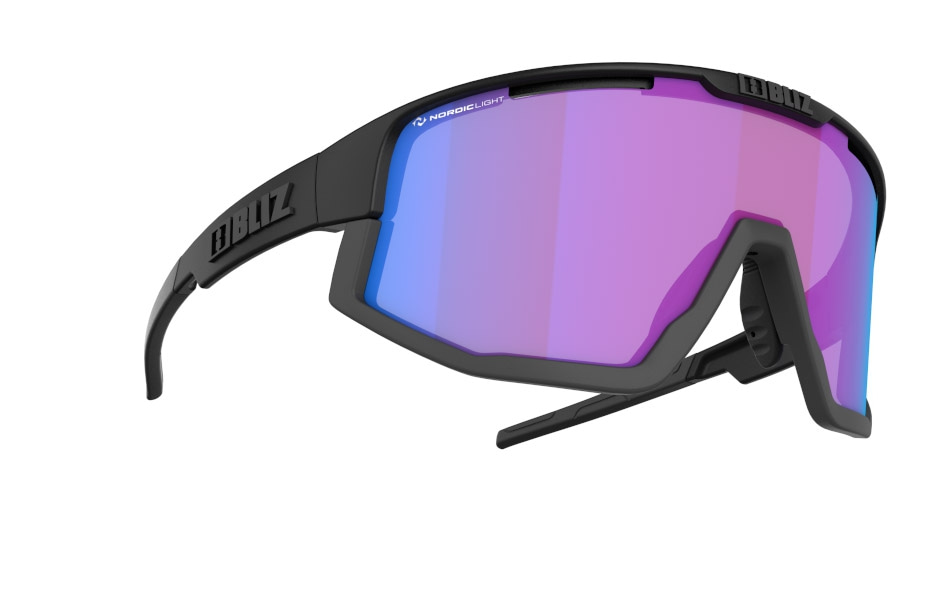 Vision - Nano | Nordic Light - Matt black, Violet w blue multi