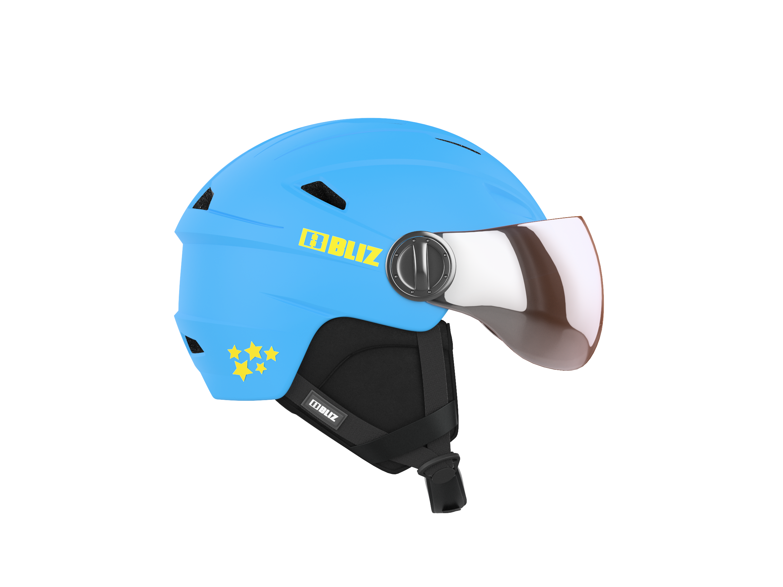 Jet Blue - Kids Helmet Blue XS