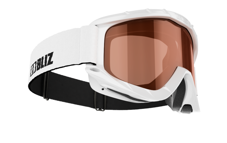 Park Pro Double lens - White w orange