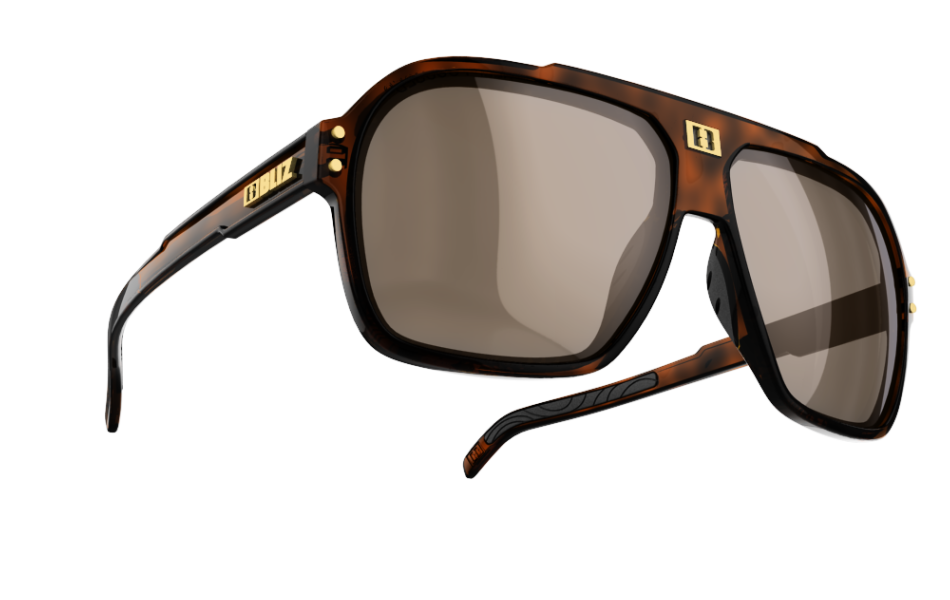 Targa Polarized - Demi brown w polarized silver mirror